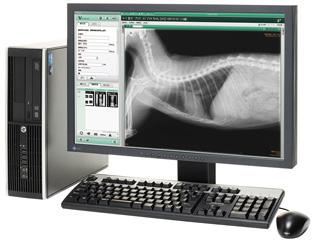 レントゲン(小動物専用X線診断装置VPX-500A)&デジタルX線画像読み取り装置(FCR PRIMA T2 V + V Station T)